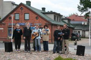 Laul Rakvere keskväljakul